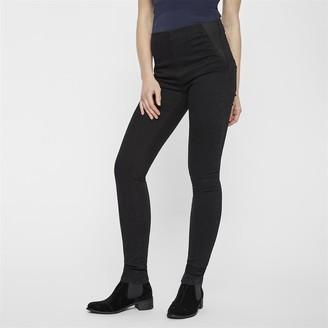 Mama Licious Mamalicious Womens Lola High Waisted Jeans With Back Zip Black