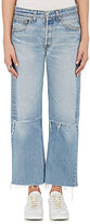 Icons Women's Distressed Crop Jeans