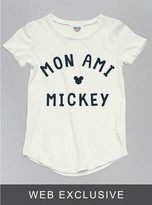 Junk Food Clothing Kids Girls Mickey Mouse Tee-sugar-xl