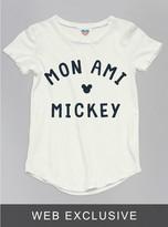 Junk Food Clothing Kids Girls Mickey Mouse Tee-sugar-xs
