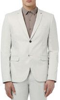 Topman Skinny Fit Cotton Suit Jacket