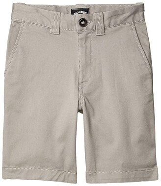 Billabong Kids Carter Stretch Shorts (Big Kids) (Black Heather) Boy's Shorts