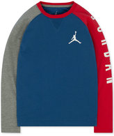 Jordan Little Boys' Long-Sleeve Graphic-Print T-Shirt