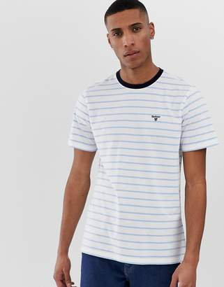 Barbour Portree striped t-shirt in blue