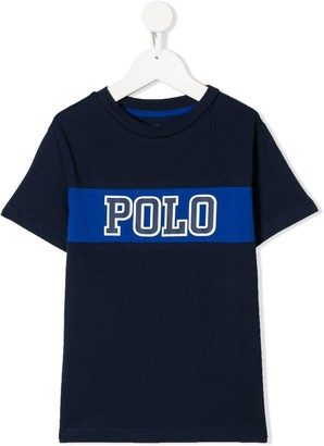 Ralph Lauren Kids logo patch T-shirt