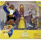 Disney Beauty (Belle) and the Beast Poseable Figurine Figure Set