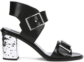 McQ by Alexander McQueen Women's Shackwell Strap Heeled Sandal Black