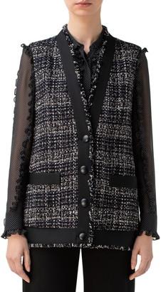 Akris Punto Tweed Vest