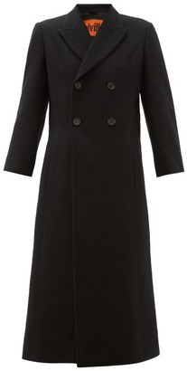 Colville - Military Double-breasted Wool Coat - Black