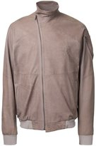 Julius leather bomber jacket