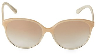 Oliver Peoples Brooktree 58MM Round Sunglasses