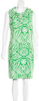 Kate Spade Palm Patterned Shift Dress