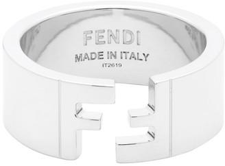 Fendi Silver Forever Ring