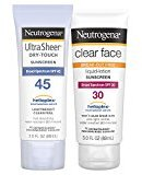 Neutrogena Clear Face & Ultra Sheer Protection Pack
