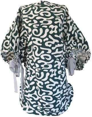 Marni Green Cotton - elasthane Dresses