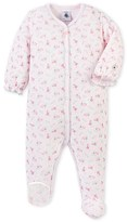 Petit Bateau Baby girls printed pajamas