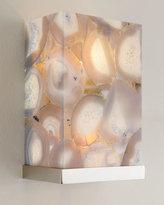 John-Richard Collection Illuminated Agate Shade 2-Light Sconce