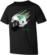 Nike Boys 8-20 Marshall Thundering Herd Helmet Tee