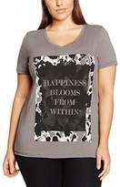 Zizzi Women's O10618B T-Shirt