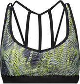 Koral Verge Versatility printed stretch-jersey sports bra