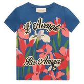 Gucci Little Girl's & Girl's Pond-Print Tee