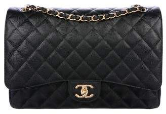 Chanel 2017 Classic Maxi Double Flap Bag