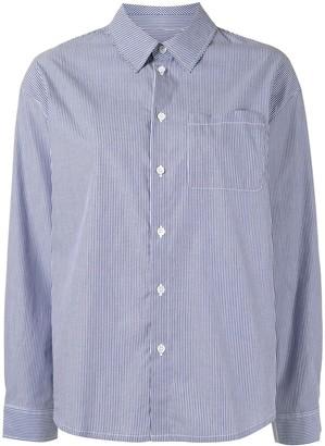 A.P.C. Stripe Print Poplin Shirt