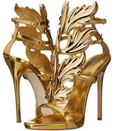 Giuseppe Zanotti Suede Winged Sandal Women's Shoes