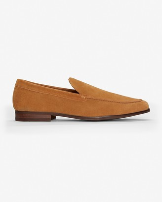 Express Suede Slip-On Loafer Dress Shoes