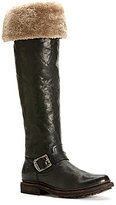 Frye Valerie Shearling Over The Knee Leather Boots