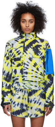 Nike Multicolor Off-White Edition Tie-Dye NRG 27 AOP Jacket