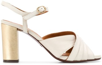 Chie Mihara Bitiap 90mm two-tone sandals