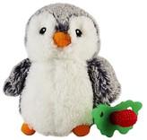 Razbaby Teether Buddy Penguin - Light Grey