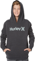 Hurley Boys Surfclub One And Only Pullover Hoodie Black