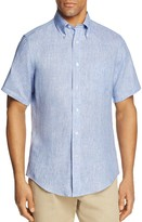 Brooks Brothers Linen Slim Fit Button-Down Shirt