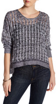 Inhabit Weekend Linen & Cashmere Blend Pullover Sweater