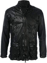 Giorgio Brato scrunch effect jacket