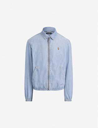 Polo Ralph Lauren Logo-embroidered chambray jacket
