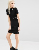 Cheap Monday High Neck Cropped Top With Zip Detail