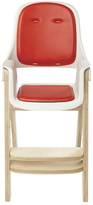 OXO Tot Sprout High Chair- Orange/Birch