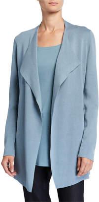 Eileen Fisher Petite Open Interlock Jacket