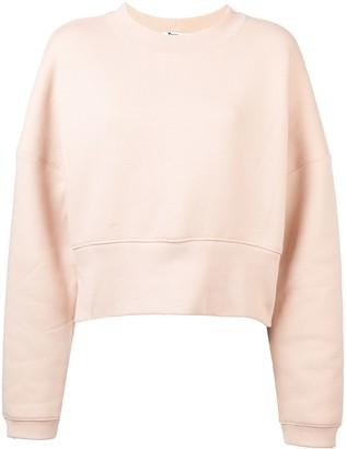 Alexander Wang Cropped Casual Sweatshirt