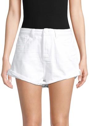 One Teaspoon Bandits High-Waist Denim Shorts