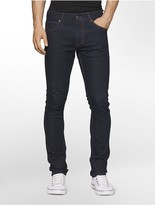 Calvin Klein Sculpted Blue Rinse Slim Jeans