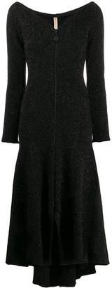 Maria Lucia Hohan v-neck flared dress