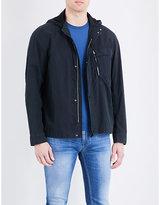 C.P. Company Lens-hood cotton-blend jacket