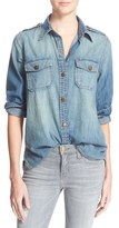 Current/Elliott Women's 'The Perfect' Button Front Denim Shirt