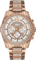GUESS Rose Gold-Tone Bold Sport Watch
