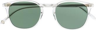 Garrett Leight Kinney round-frame glasses