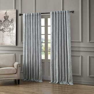 "Waterford Delia Back Tab/Rod Pocket Curtain Panel, 54"" x 84"""